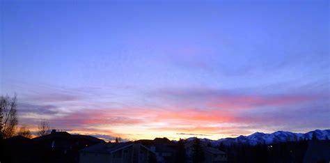 friday morning sunrise home alaska