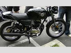 Tha Misfit 250cc Cafe Racer Motorcycle by Cleveland Cycle