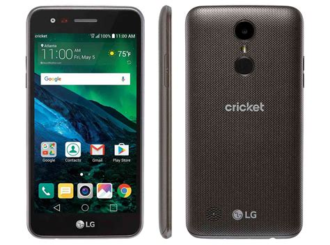 lg fortune lands  cricket wireless    display  price tag phonedog