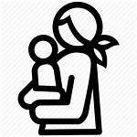 Icon Mother Child Lactation Breastfeeding Childhood Transparent
