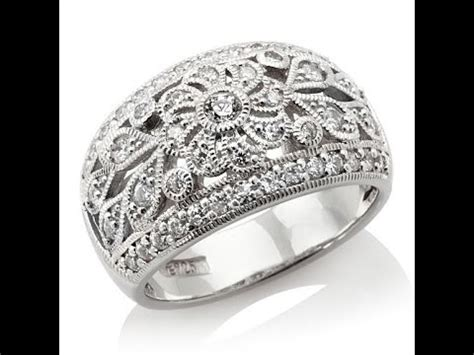 xavier ct absolute floral design band ring youtube