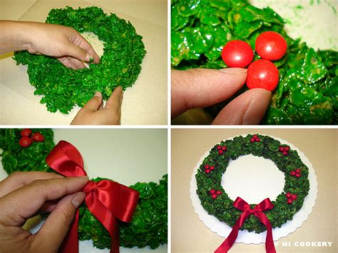 cereal wreaths  cookery
