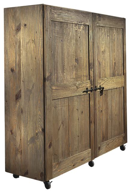 Kitchen Cupboard On Wheels by Ginestra Aged Pine Pantry Cupboard With Wheels Country
