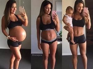 Fit mama walczy z pomarszczonym brzuchem po ciąży ...