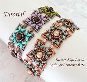 Kotak Beaded Bracelet Beading Tutorials And Patterns