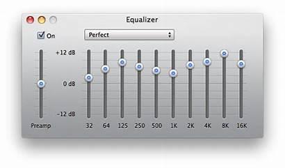 Equalizer Perfect Itunes Settings Preset Sound Eq
