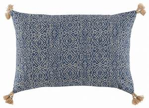 priya lumbar pillow with tassels mediterranean With decorative throw pillows with tassels