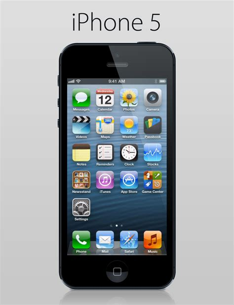 free iphone free psd iphone 5 iceflowstudios design