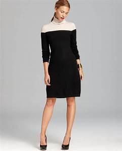 Bloomingdales Size Chart C By Bloomingdale 39 S Cashmere Color Block Turtleneck Dress