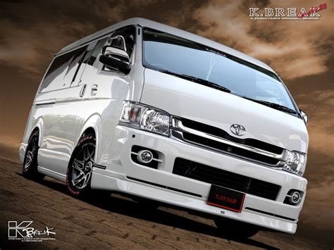 Toyota Hiace 4k Wallpapers by Toyota Hiace The Best Stuff In The World
