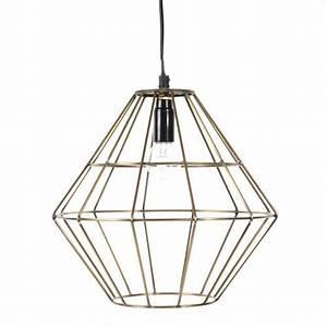 Lampe Cuivre Maison Du Monde : luminaires suspension maison du monde ~ Teatrodelosmanantiales.com Idées de Décoration