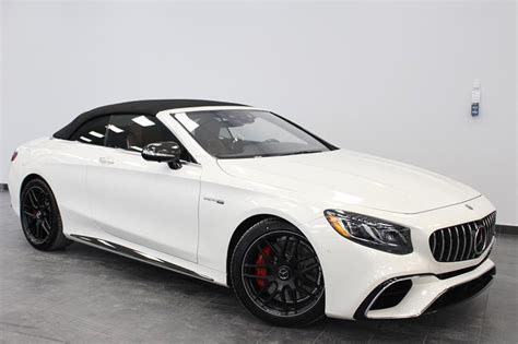 Massaging lumbar support^150 amp alternator^2.47 axle ratio^20.7 gal. New 2019 Mercedes-Benz S63 AMG 4MATIC+ Cabriolet for sale - $231164.0 | Mercedes-Benz Blainville