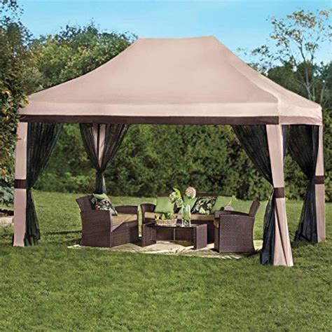 quictent  waterproof  ez pop  canopy gazebo party tent beige portable pyramid