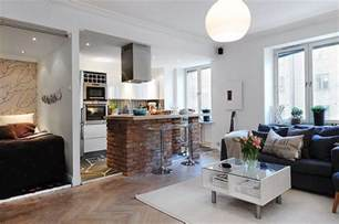 kitchen living space ideas small kitchen and living room combined designs this for all