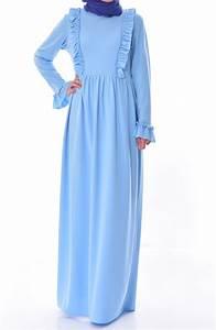 Baby Blau Farbe : baby blau hijap kleider 7252 10 ~ Markanthonyermac.com Haus und Dekorationen