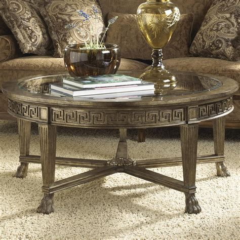 wolf table with glass table top grecian style round coffee table with glass top