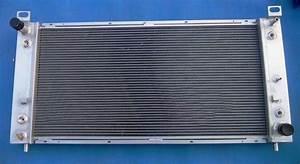 Aluminum Radiator For Chevy New Chevrolet Silverado 1500 2500 3500 4 8l 5 3l 6 0l V8 High