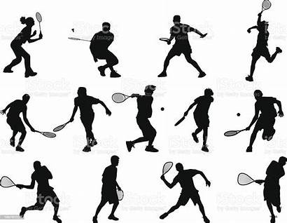 Sports Sport Vector Squash Racquet Badminton Illustration