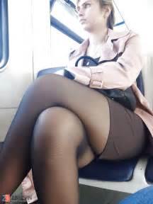 Pantimedias, stockings, spy voyeur teach / ZB Porn