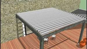 Pergola Lame Orientable : kit lame orientable easylam la pergola bois ~ Dallasstarsshop.com Idées de Décoration