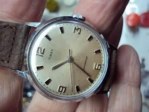 Vintage 1968 Timex Marlin Manual Wind Watch