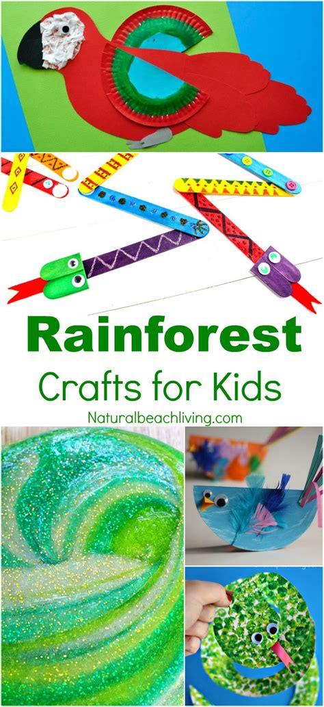 10 amazing rainforest crafts can make 434 | rainforest crafts kids pin1