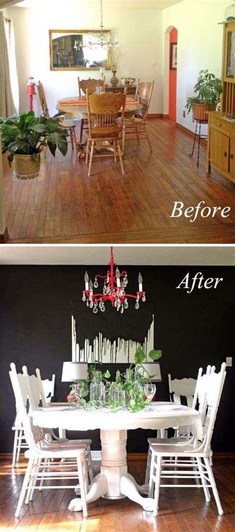 easy  budget friendly dining room makeover ideas hative