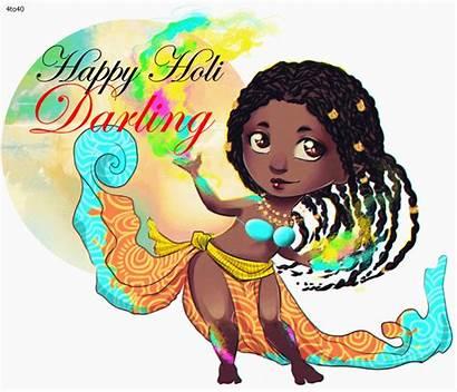 Holi Happy Krishna Radha Animated Cau Usqp