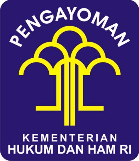 logo kementerian hukum  ham kumpulan logo indonesia