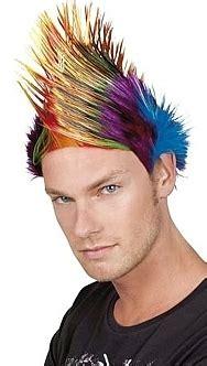 hairwebde extreme styles punk frisuren skins frisur