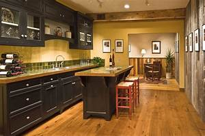 What Color Wood Floor With Light Oak Cabinets