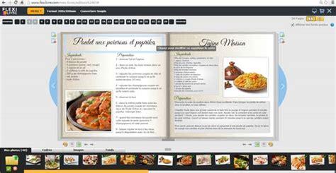 faire livre de recettes