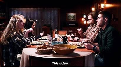 Supernatural Wayward Table Season Dinner Fun Daughters