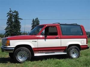 87fierored 1989 Ford Bronco Ii Specs  Photos  Modification