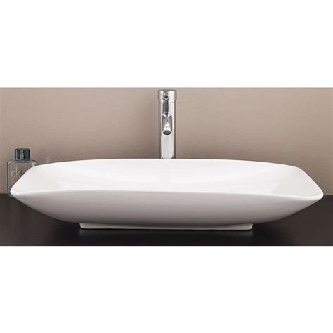 Modern Above Counter Bathroom Sinks by Modern Bathroom Basin Counter Vessel Ceramic Sink Buy