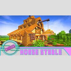 Modded Minecraft How To Make An Awesome Horse Stable