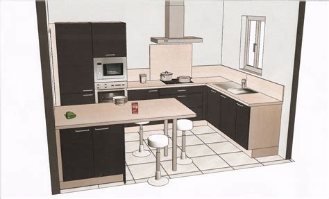amazing modeles de cuisines equipees 8 plans cuisine