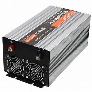 Pure Sine Wave Inverter Dual Led Display 5000w Power