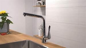 Hans Grohe Metris : hansgrohe metris single lever kitchen mixer 320 14821000 youtube ~ Orissabook.com Haus und Dekorationen