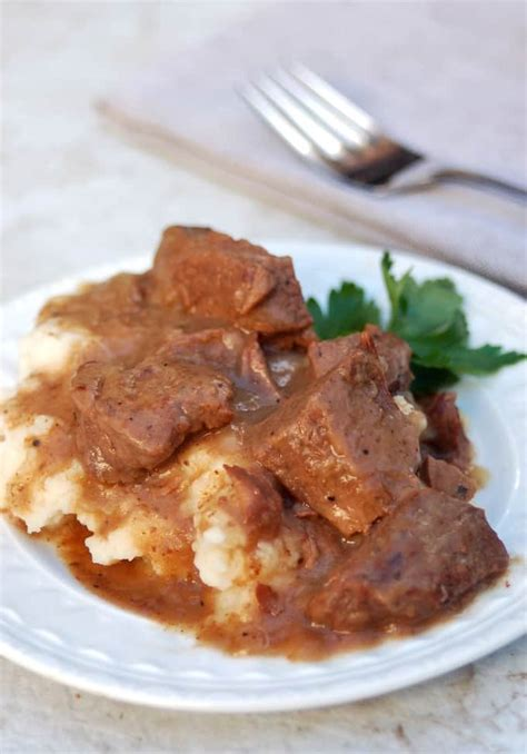 crock pot stew beef  gravy recipe simple nourished living