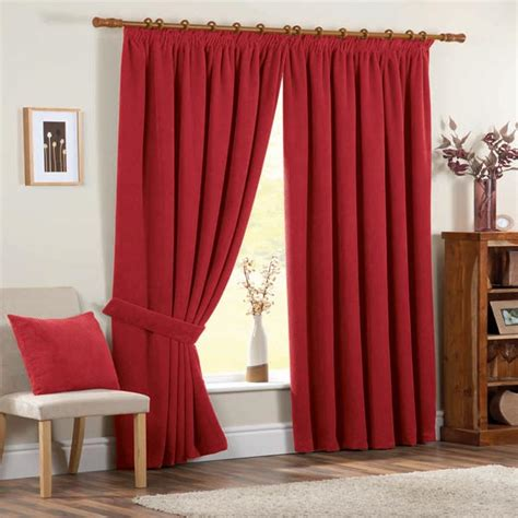 Thermal Lined Curtains 90 X 90 by Chenille Spot Thermal Pencil Pleat Lined Curtains 90