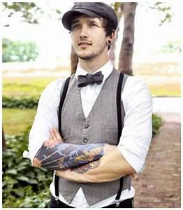 Costume Mariage Original : costume de mari mariage suspenders fashion vintage groomsmen attire et mens fashion ~ Dode.kayakingforconservation.com Idées de Décoration