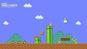 'Super Mario Maker' Wallpaper Creator Turns Levels Into ...