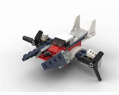 Plane Moc Rebrickable Bricksafe