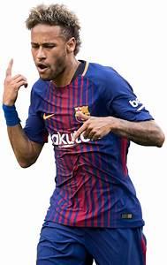 Neymar football render - 39165 - FootyRenders