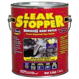 leak stopper  quart fibered waterproof cement roof