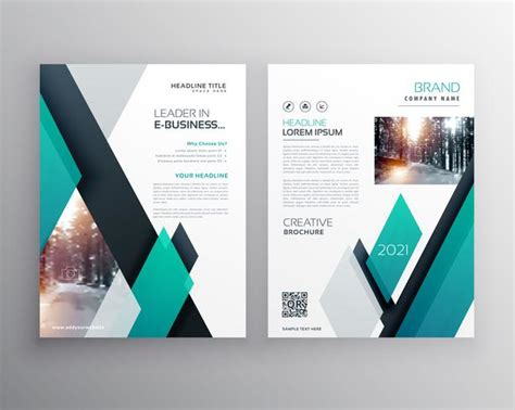 blue brochure template layout cover design  annual