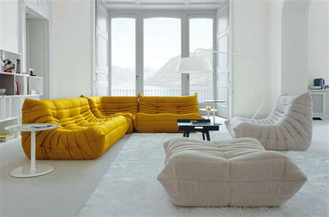 canapé ottoman cinna remform archive ligne roset togo sofa