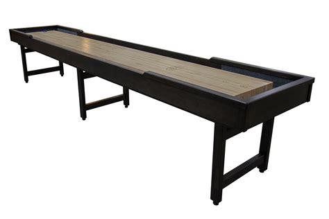 12 ft shuffleboard table 12 foot michigander shuffleboard table mcclure tables