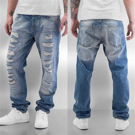 Just Rhyse Tyrees Straight Fit Jeans Light Blue Woodmint